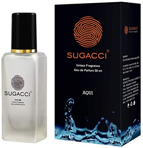 S SUGACCI Unisex Aqui Eau De Parfum, 50 ml