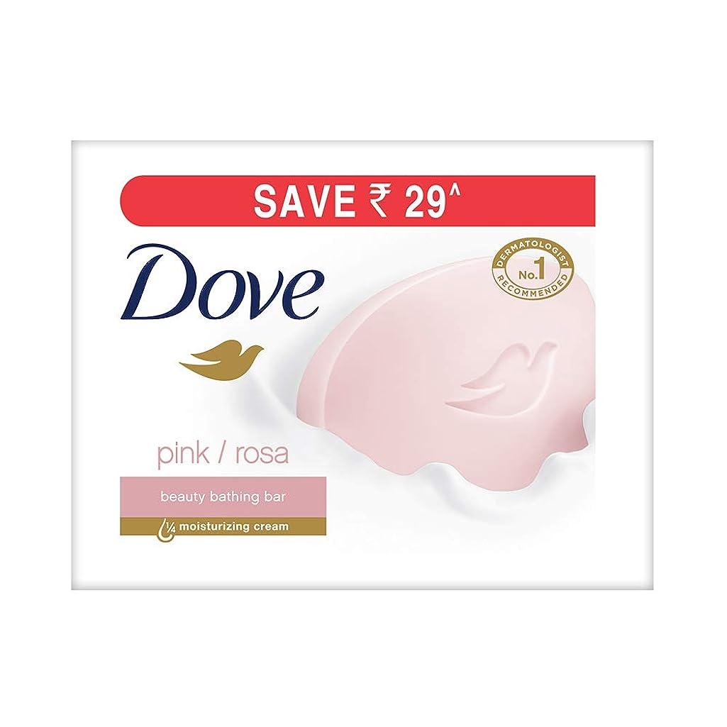 センブランス腐敗推定Dove Pink Rosa Beauty Bathing Bar, 100g (Pack of 3)