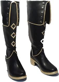 Mister Bear The Sword Dance Touken Ranbu Online Cosplay Costume Akashi Kuniyuki Boots Boot Shoes Shoe
