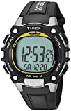 Timex Men's T5E231 Ironman Classic 100 Black/Yellow Resin Strap Watch