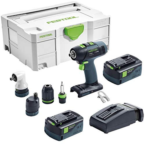 Festool accu-boormachine T 18 + 3 T 18+3 LI 5,2 Set