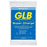 GLB Pool and Spa Products GLB71428A Calcium-Hypochlorite Super Charge Shock, 1 lb