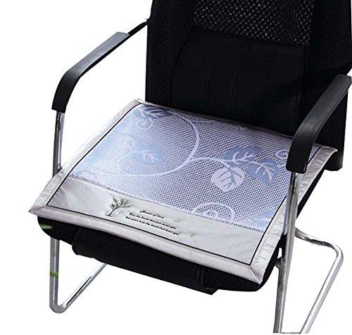 Blancho Sitzkissen Stuhlkissen Sommer Rattan Sitze Ice Silk Kissen Atmungsaktiv Kühlen