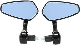 """GoolRC Par de moto final Bar espelho retrovisor Universal 7/8"""" barra do punho 360 ° Swivel & ângulo espelhos retrovisores ..."""