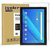 ivoler Protector de Pantalla para Lenovo TAB4 10 / Lenovo Tab 4 10 Pulgadas, Cristal Vidrio Templado Premium [9H Dureza] [Alta Definicion 0.3mm] [2.5D Round Edge]