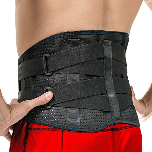 Lower Back Brace by FlexGuard Support - Lumbar Support Waist Backbrace...