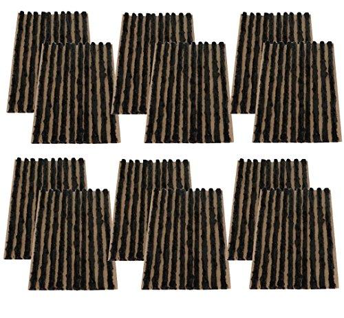 Aerzetix 120 strengen 4 mm 10 cm zwart voor bandenreparatieset