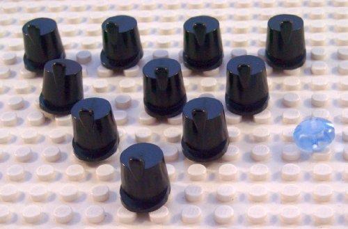 LEGO PIRATEN - 10x Shako / Hut für Soldaten + ein blaues Icon