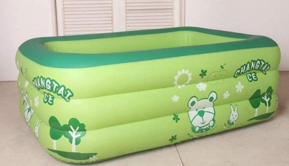 RÁPIDO Configuración de colocación Simple Swim Center Family Lounge Piscina Infantil Rectangular para niños Piscina Inflable de Diferentes tamaños para niños Ocean Family 130 * 85 * 46 con Bomba: Amazon.es: Jardín