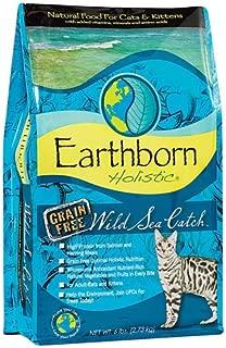 Earthborn Holistic Wild Sea Catch Natural Cat & Kitten Dry Food Grain Free -- 6 lbs