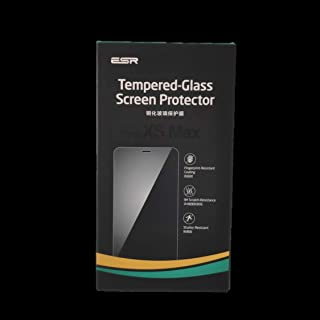 ESR Tempered Glass Screen Protector Full Coverage with plastic Guide for for iPhone XS Max