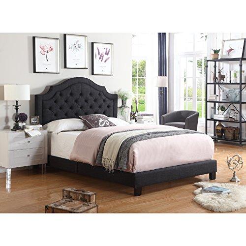 Rosevera Angelo Platform Bed Full Charcoal