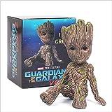 HS Baby Groot Figuren Von Guardians of The Galaxy Zum Sammlerpuppen Figur Skulptur Kindergeschenk - Ich Bin Groot 6cm