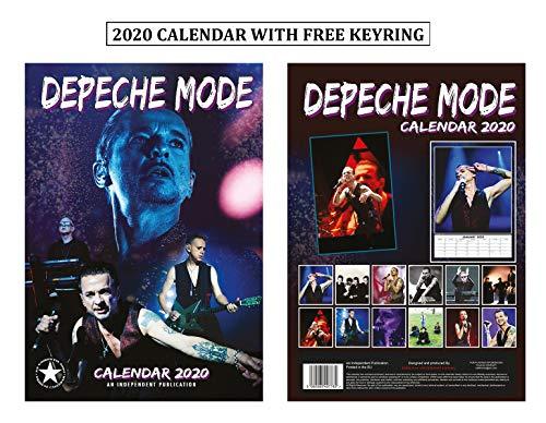 Depeche Mode Calendario 2020 + Llavero de modo Depeche