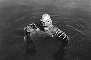 Creature From The Black Lagoon Claw Hands Ricou Browning As Monster 24x36 Poster