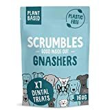 Scrumbles Gnashers Daily Dental Chew Sticks, Hand-Baked Dog Treats for Fresher Breath, Multipack of 6 x 7 Bones