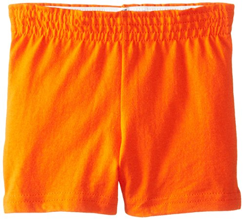 Soffe Girls Authentic Soffe Shorts, Orange, Small