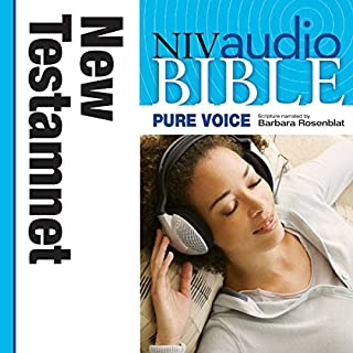 Pure Voice Audio Bible - New International Version, NIV (Narrated by Barbara Rosenblat): New Testament audiobook cover art