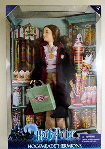 Mattel Harry Potter Hogsmeade Hermione Action Figure Doll image