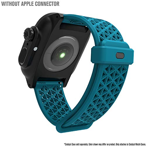 Catalyst Sport Band per Apple Watch Series 4-44mm-, Serie 3,2,1-42mm-, Ipoallergenico, Traspirante, Sgancio rapido, Compatibile con Le Casse, connettori per Altre Marche Non Incluse, Teal