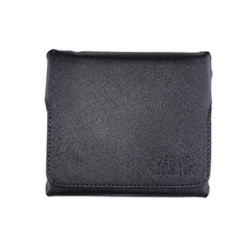 GC-TECH® Etui kompatibel mit Iqos 3 + Duo Platz für Holder Heets Pocket-Charger Bürste Heat-Filter CC (schwarz)