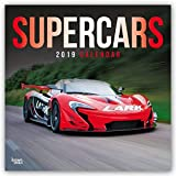 Supercars 2019 - 18-Monatskalender (Wall-Kalender)