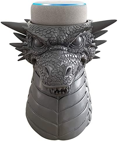 Best Dekodots Smart Speaker Table Stand (Dragon) - Decorative Holder for Amazon Echo Dot or Google Home M