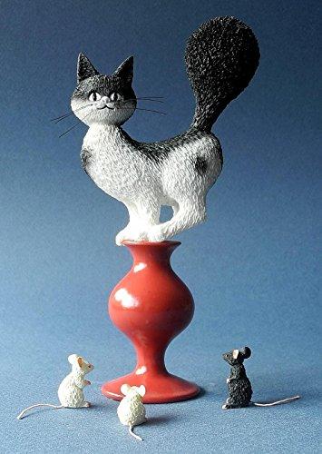 Los Gatos de Dubout - Plan de Escape - 17cm, segun un dibujo de Albert Dubout #51