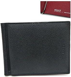 バリー/BALLY マネークリップ財布 BODOLO.B 216 6205393 ブラックxレッド 並行輸入品