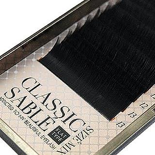 【amass Bona】クラシックセーブル フラットタイプ Dカール サイズMIX×0.10mm