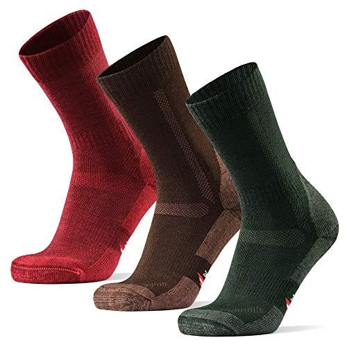 DANISH ENDURANCE Calzini in lana merino, per escursionismo e camminata, confezione da...