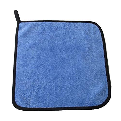 YIKXCF 3/5/10 PCS Extra Soft Car Wash Toalla de Microfibra Limpieza de Coche Secado Paño Cuidado Car Paño Detalle Detalle Washtowel Nunca Scrat (Color : Green, Material : Superfine Fiber)