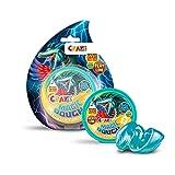 CRAZE- Intelligente Superknete für Kinder Kinderknete Magic Dough 35481-Plastilina Inteligente para niños, 8, Bote de 35 g, sin BPA ni Gluten, Color carbón (35481)