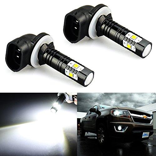 JDM Astar extremely bright Max 30W 881de alta potencia CREE LED bombillas para DRL o luces de niebla, Xenon Blanco