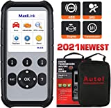 Autel MaxiLink ML629 Enhanced OBD2 Scanner, 2021 Newest Upgraded of AL619, ML619, ABS SRS Engine Transmission Scan Tool, Car Code Reader with Auto VIN, Ready Test, DTC Lookup