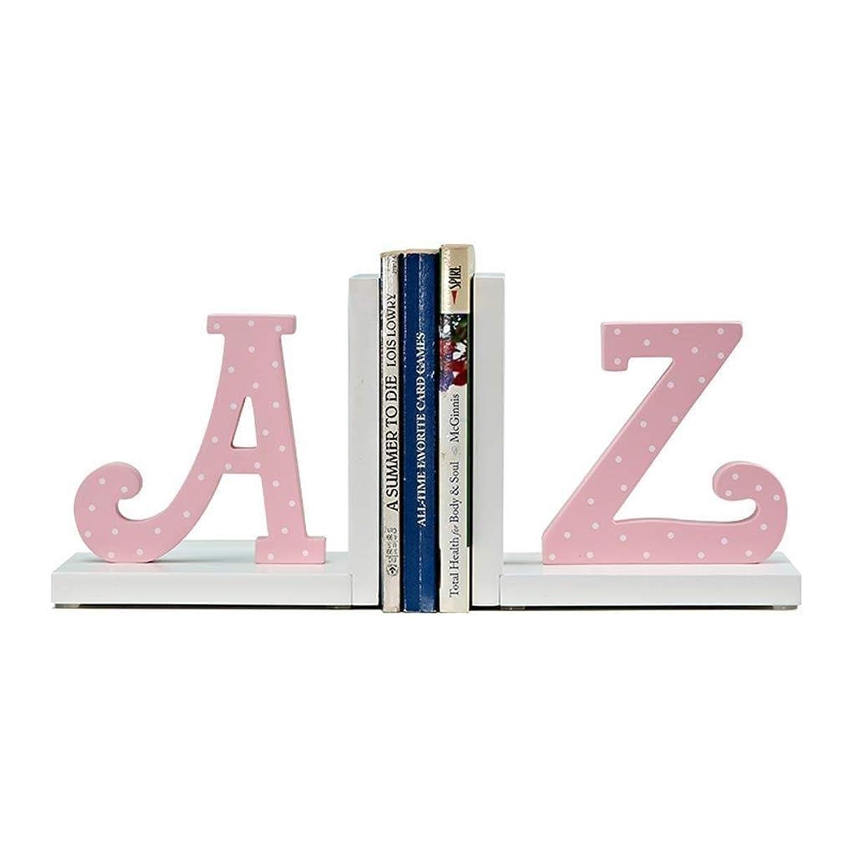 パッケージライン鈍いRMJAI リビングルーム 本棚漫画ブックエンド装飾装飾子供部屋クリエイティブブックスタンドモデルルームの装飾ピンク飾り装飾品21×10×16センチ 家庭やオフィスに最適