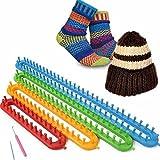 Vetrineinrete® Set 4 telai rettangolari per la lavorazione della lana maglia telaio maglieria varie misure G25