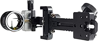 Sword Sights Sniper 1.5 Hybrid Compound Bow Archery Sight – Right Handed - Side Pin/Up Pin - for Hunting, 3D and Competitive Shooting