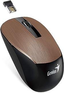 جينياس فأرة كرافت الذكية اللاسلكية مع طلاء معدني ، Nx-7015