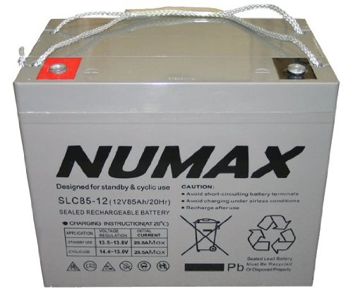 SLC75-12 Numax Sealed Accu 75Ah