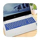 for HP Pavilion Gaming 15-ec 15-ec0002ua 15-ec0075ax ec0005nt ec0019nt 15-ec0020nt 15.6 inch Laptop Keyboard Cover Protector-Blue-