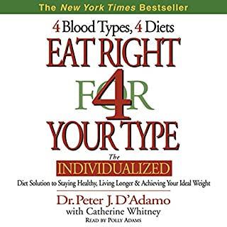 Eat Right for Your Type audiobook cover art