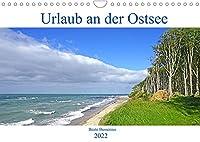 Urlaub an der Ostsee (Wandkalender 2022 DIN A4 quer): Die Ostsee - ein heiss begehrtes Ziel vieler Urlauber (Monatskalender, 14 Seiten )