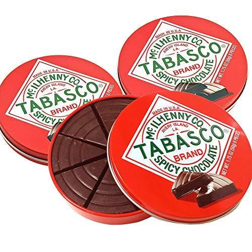 タバスコ スパイシー ダークチョコレート 3個セット クール便