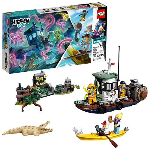 LEGO Hidden Side Wrecked Shrimp Boat 70419 Building Kit, App Toy for 7+ Year Old Boys and Girls, Interactive Augmented Reality Playset, New 2019 (310 Pieces)
