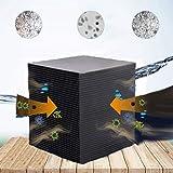 PDHJHT Eco-Aquarium Water Purifier Cube Fish Tank Nuevo Material de filtración rápida purificación del Agua Filtro para acuarios, Limpieza del Acuario