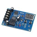WATPET Fácil de Montar Carga de Pantalla del módulo Controlador LED Digital Interruptor de Almacenamiento de la batería de Litio de Control del Cargador de Protección Junta 12-24V