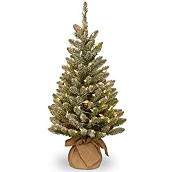 3 foot pre-lit Christmas tree for sale