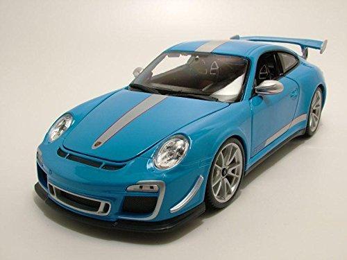 Porsche 911 991 GT3 RS 4.0 blau Modellauto 11036 Bburago 1:18