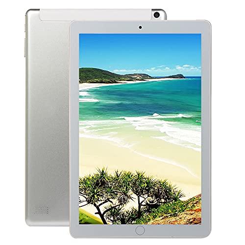 LINGOSHUN Tableta de 10.1 Pulgadas, 1GB de RAM Y 16GB de Almacenamiento, Procesador Android 6.1 Octa-Core, Pantalla HD de 800 * 1280, Wi-Fi Y Bluetooth/Blanco / 4000mAh Battery